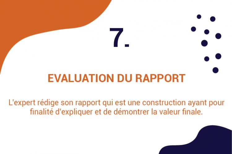 7 evaluation du rapport